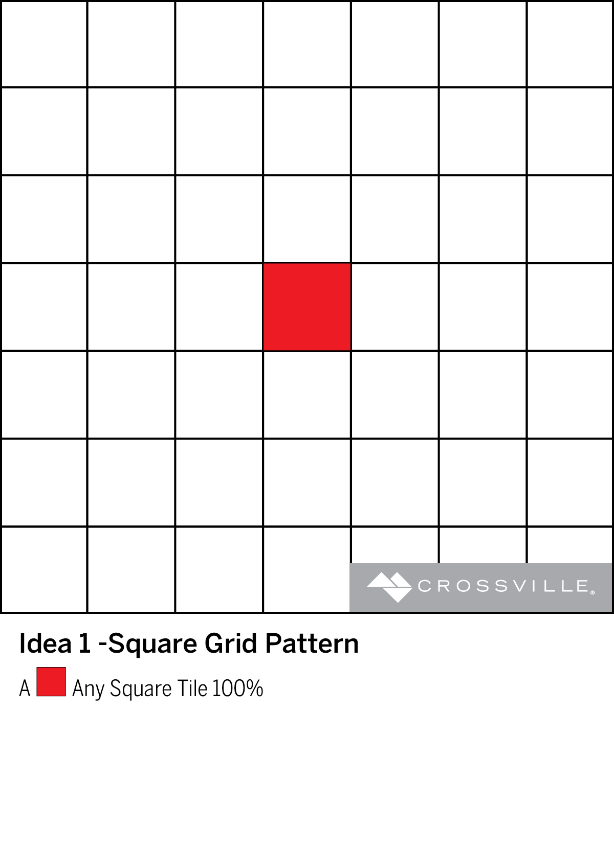 Square Grid Pattern